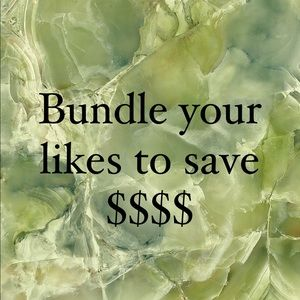 Bundle your likes and make me an offer 💚